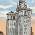 絵葉書 米国 Municipal Building New York カラー